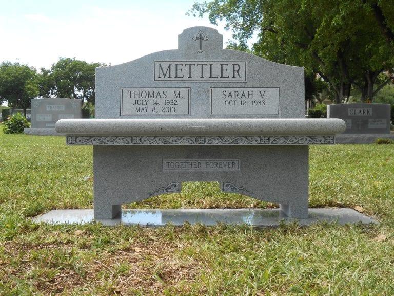 Mettler Loving Bench Monument