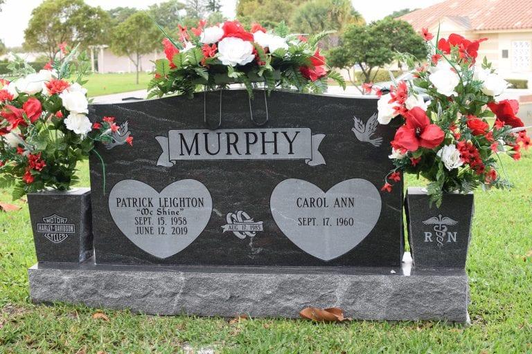 Murphy Loves Upright Memorial