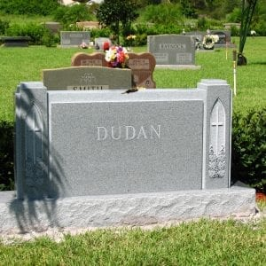 Dudan Religious Upright Gravestone