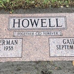 Howell Faithful Flat Monument