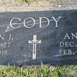 Cody Rosary Flat Memorial
