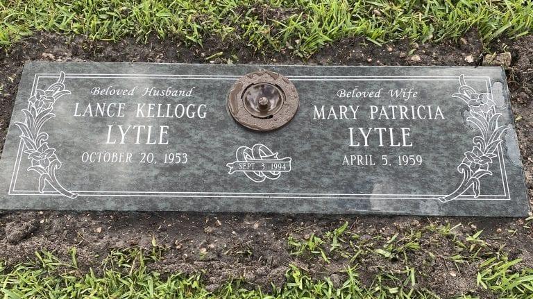 Lytle Loving Flat Headstone