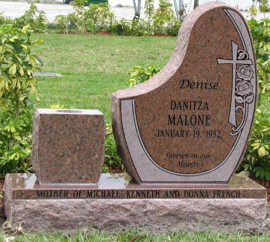 Malone Irregular Upright Monument