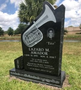 Amador Tuba Upright Memorial