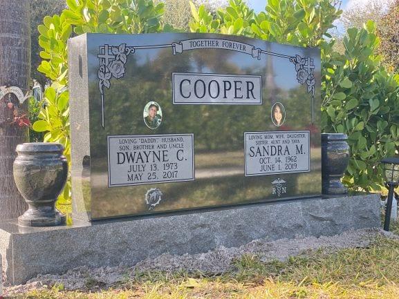 Cooper Companion Upright Memorial