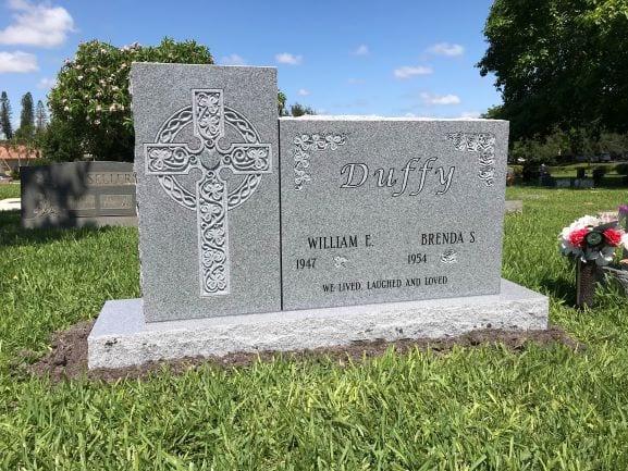 Duffy Celtic Cross Upright
