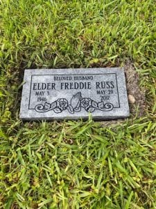 Russ Praying Flat Memorial